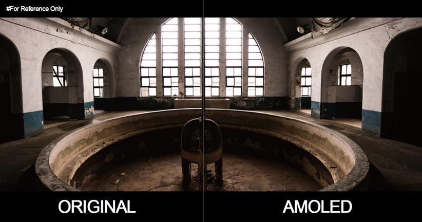 original vs amoled