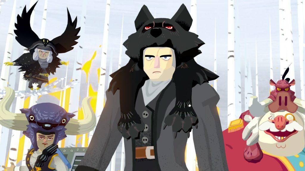 Imagen que contiene a los enemigos principales del juego Bloodroots