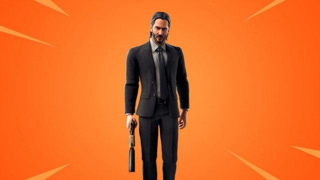 Keanu Reeves en Fortnite