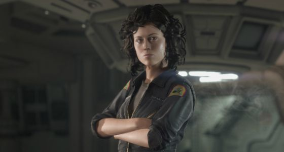 Sigourney Weaver en Alien Isolation