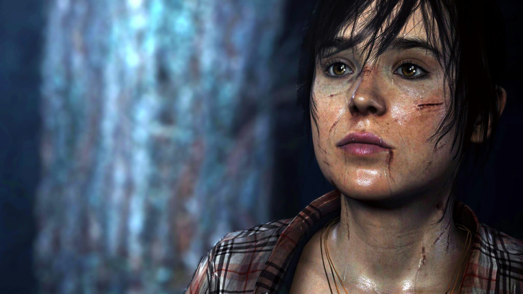 Ellen Page en Beyond Two Souls