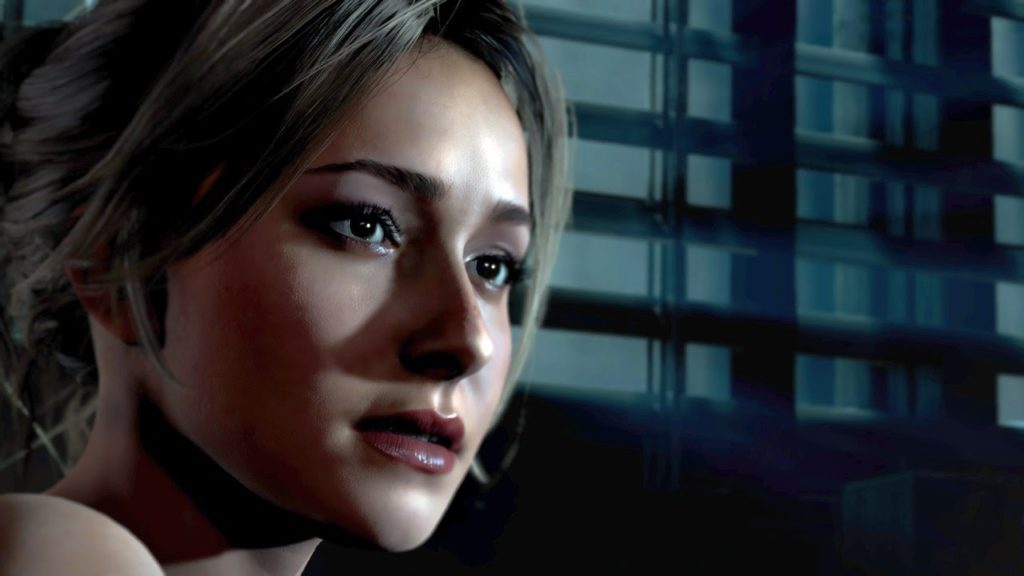 hayden panettiere en Until Dawn