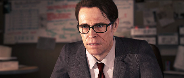 Willem Dafoe en Beyond Two Souls